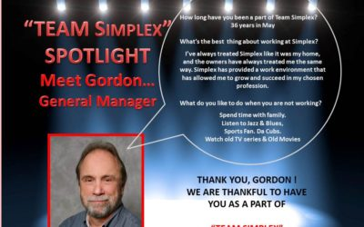 Team Simplex Spotlight: Gordon Merry
